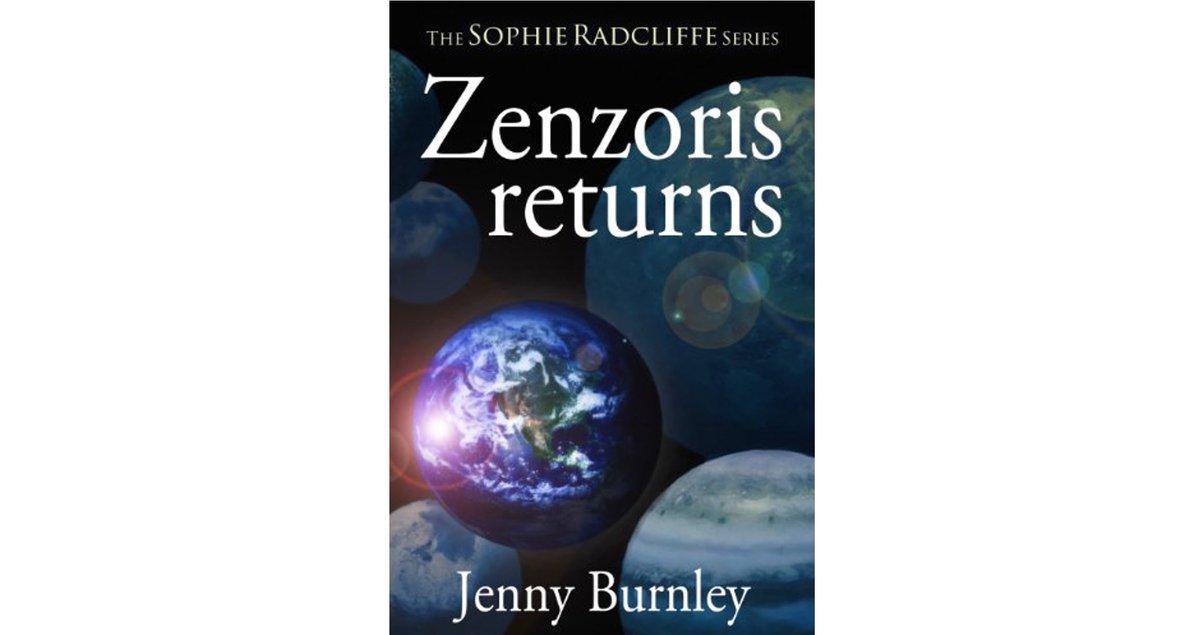 "By Jenny Burnley ""@JennyBurnley1 ZENZORIS RETURNS A great #sciencefiction adventure story"