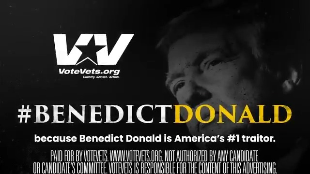 WOW! The ad we released yesterday has already been viewed over 2 million times and made #BenedictDonald trend all day! #TRE45ON   Donate to help us make more ads like this!