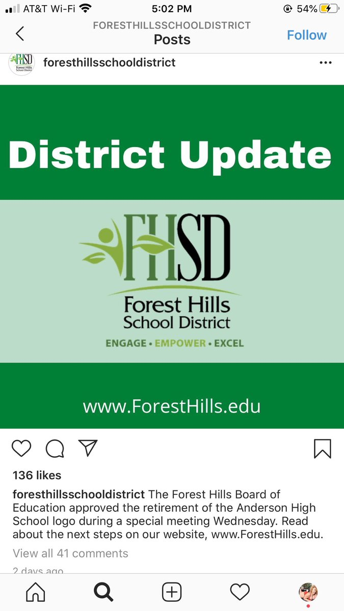 I am so proud of @FHSchools & @AndersonRedskin for making this move toward positive change.Thanks to the people of #AndersonTownship for showing they care. Fund education!Teachers are the real heroes!Children are our future,we have to educate them w/REAL knowledge&understanding!