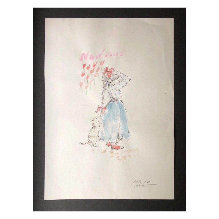 test ツイッターメディア - online shop 更新 *  NEW KUT × mt Mayumi Taniguchi  原画プリントに彩色を施した 1点物のポスター No.8-10  すぐに旅立ってしまってリクエストの多かったミニポスター  3点のみ追加で描いてくださいました🌷  谷口真由美さんの fancy & pop な世界をお楽しみください 🐈  https://t.co/qXtVb1578m https://t.co/eVPj5NG3dn