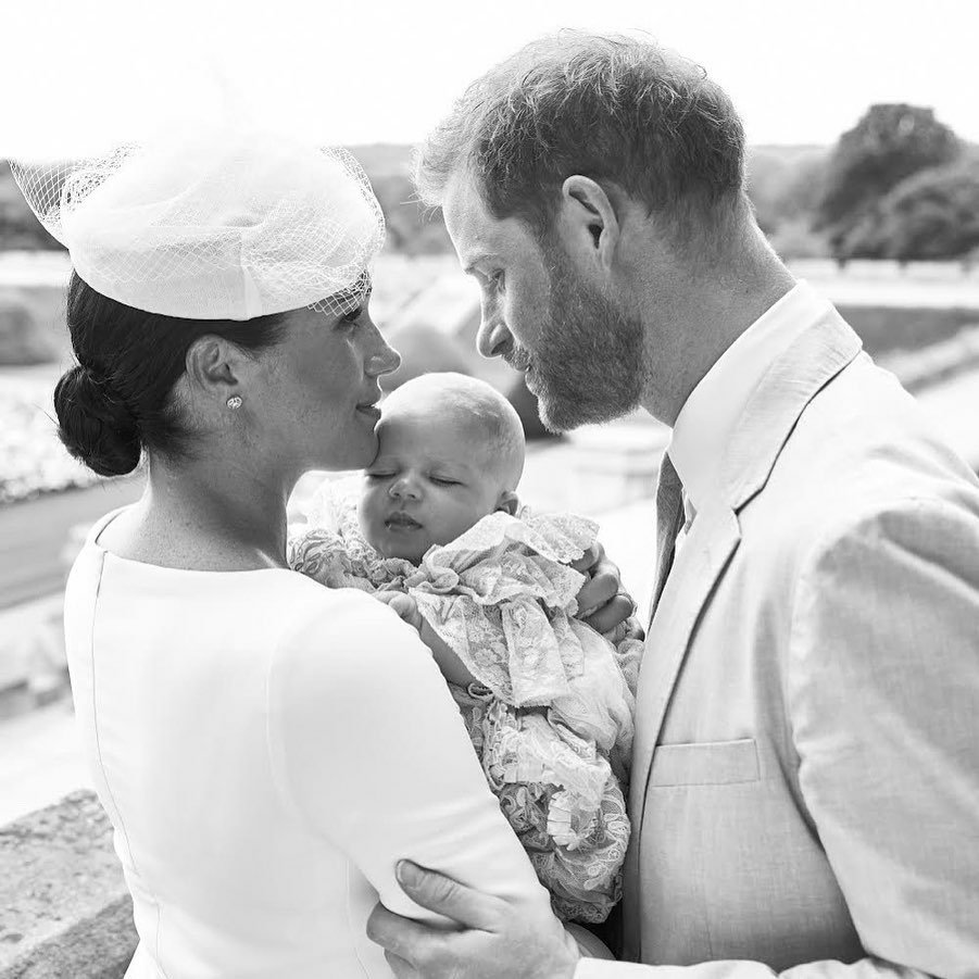 6th July 2019❤️✨ #Repost @sussexroyal • • • • • • This morning, The Duke and Duchess of Sussex's son, Archie Harrison Mountbatten-Windsor was christened in the Private Chapel at Windsor Castle at an intimate service officiated by the Archbishop of Canterbury, Justin Welby.