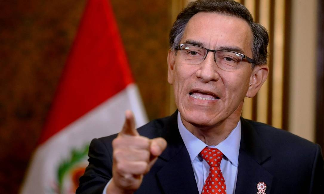 Pressionado por presidente, Congresso do Peru aprova fim da imunidade parlamentar