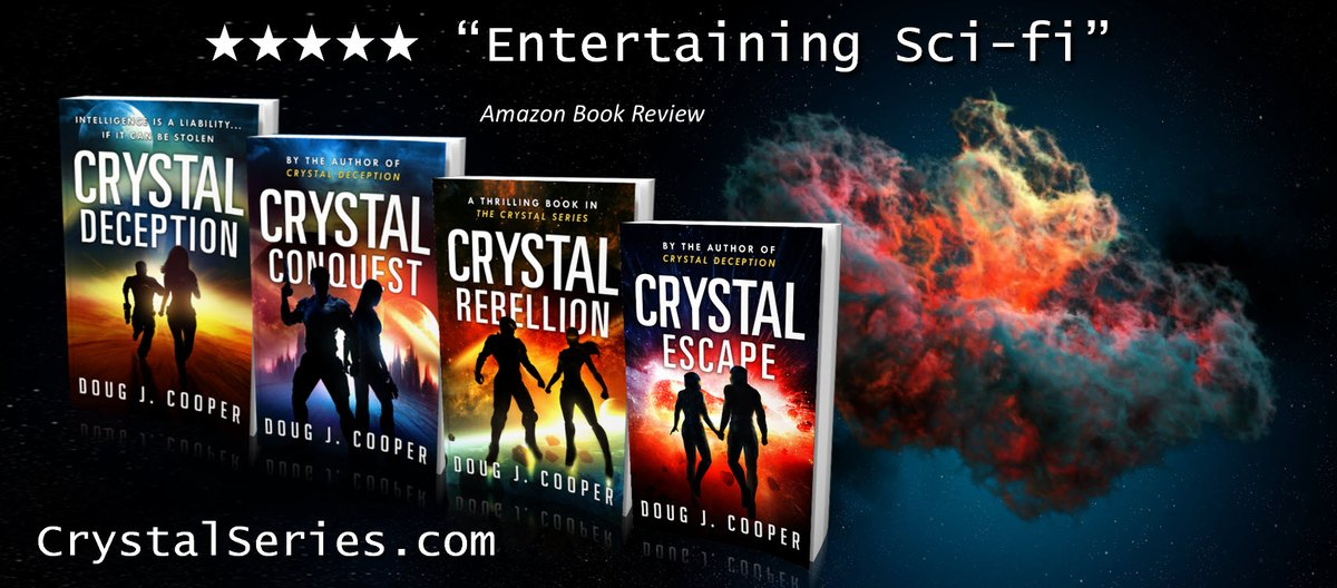 """""""I told you,"""" said Sid. """"We're going to blow ourselves up.""""  The Crystal Series – Classic sci-fi. Futuristic thrills. Start with first book CRYSTAL DECEPTION Series info:  Buy link:  #kindleunlimited #scifi"""