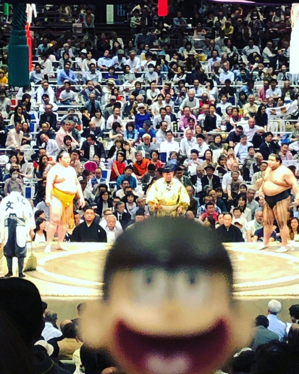 test ツイッターメディア - じゅっしと相撲 稀勢の里、遠藤、高安  #また笑おう #おそ松さん #じゅっしと https://t.co/0qU36pRtee