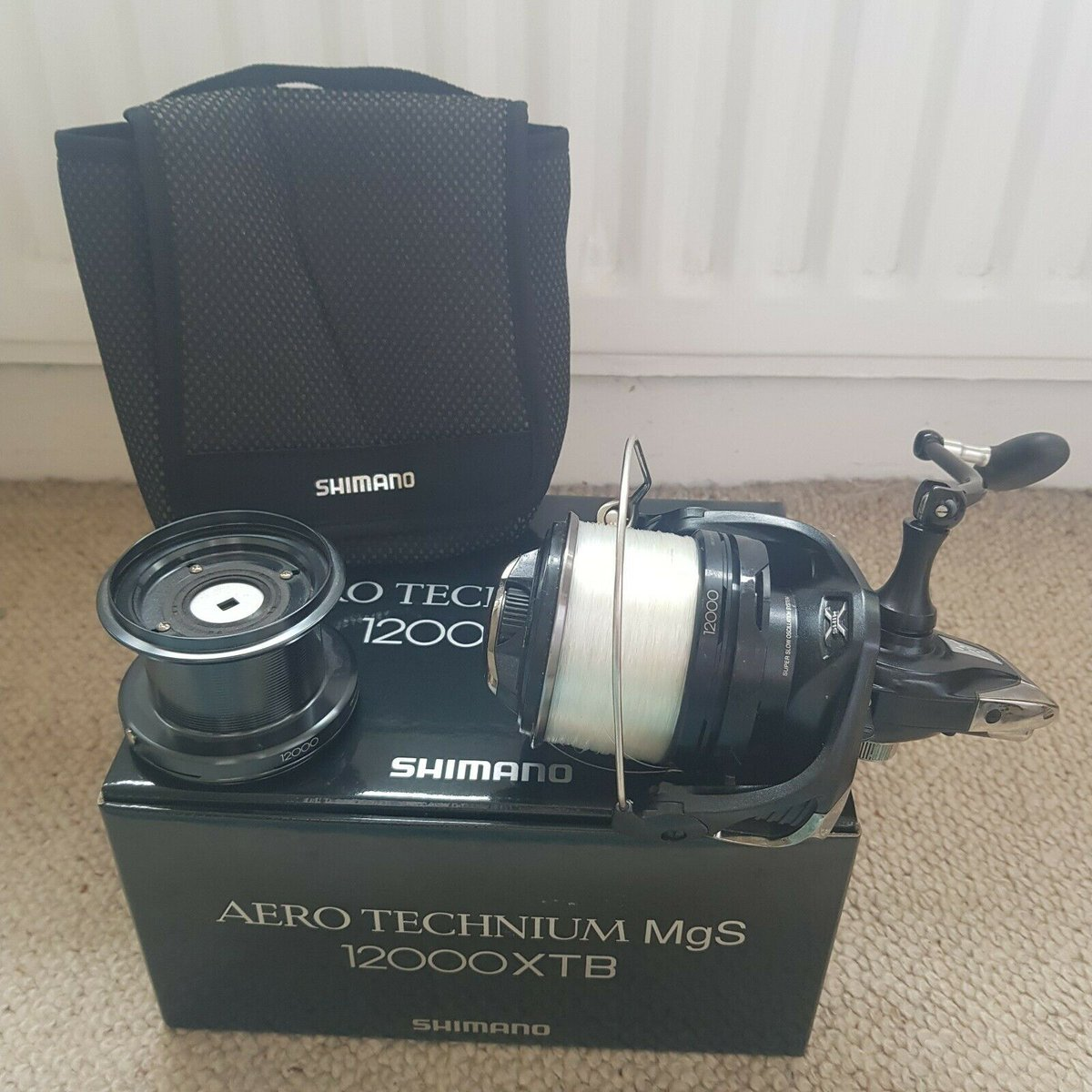 Ad - Shimano Aero Technium 12000 XTB MGS x3 On eBay here -->> https://t.co/rk6qI3etiU  #carpfi
