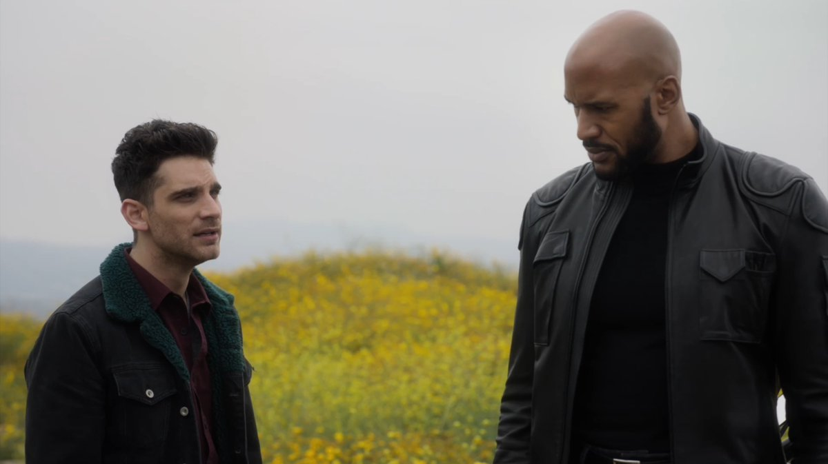 """After being unexpectedly stranded in 1982, Mack requests time to process the death of his parents, while Deke shows that he doesn't have to do it alone.  Watch an all-new """"Marvel's #AgentsofSHIELD"""" TONIGHT at 10