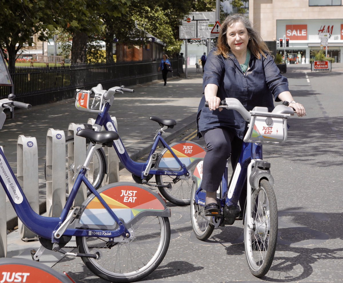 test Twitter Media - We joined Transport Convener @lmacinnessnp today to try out some of the new walking, cycling + wheeling measures ahead of a new @cyclehire_edi deal starting on Monday, offering a 4 month pass for just £10! Find our more: https://t.co/tILOdBRobp https://t.co/wKfZqBT3GE