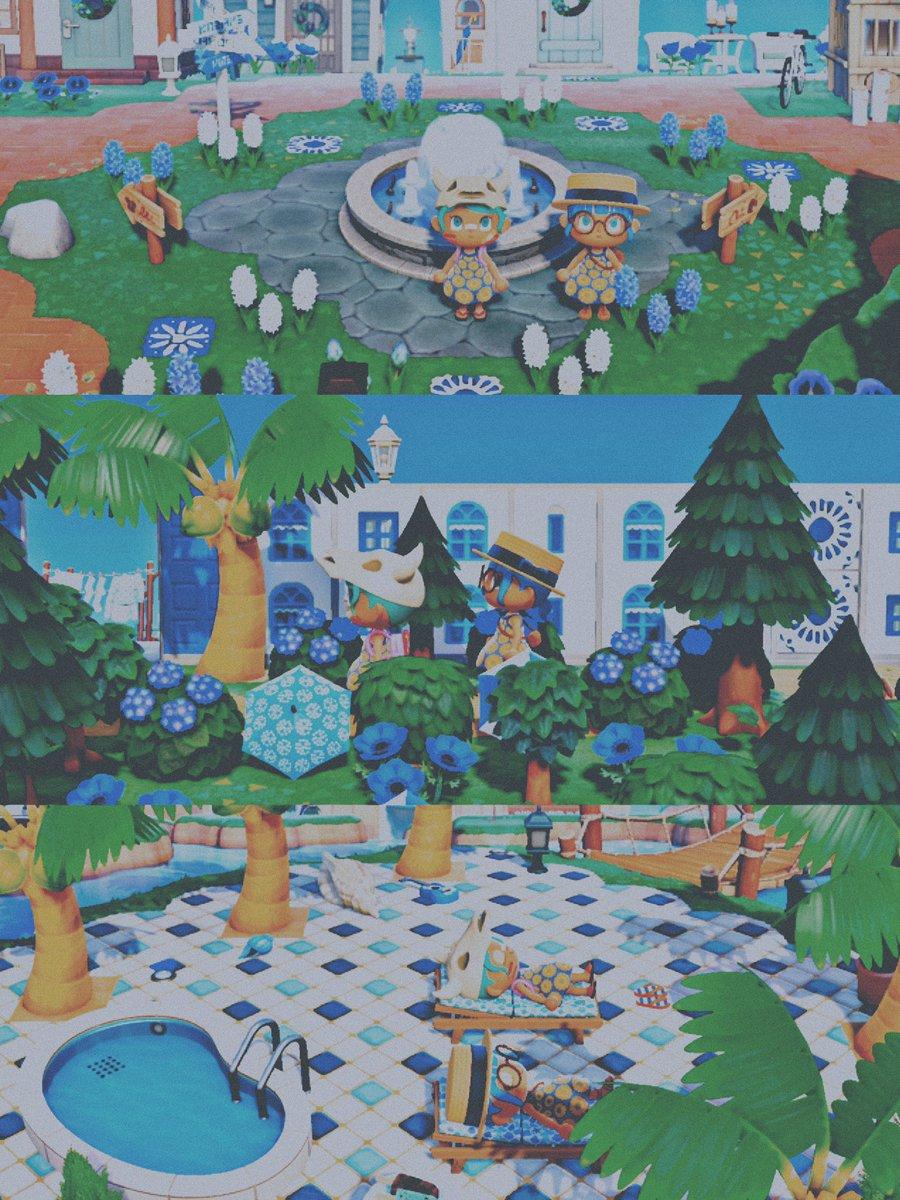 test ツイッターメディア - 昨日はずッッッと陰ながら気になっていたケニたん(@blue__berry__k) の島におじゃマップ😌💙島全体青‼️住民も青‼️見渡す限り青‼️という私とは大違いな統一感のある島で画面越しで大はしゃぎ🤦🏻♀️笑 こんな島に永住したいと本気で思えるほどとッッても素敵な島だったなァ〜!ホンマに昨日はありがとう💙 https://t.co/TcojiLv0Sw