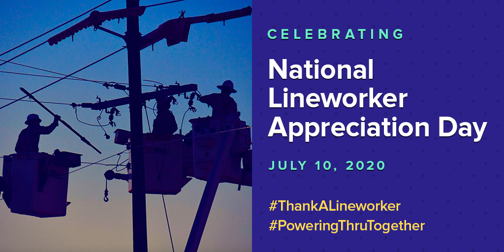A Special Thanks to Our Nation's Lineworkers For Helping Us Power Through Together from @IBEW's Lonnie Stephenson & EEI's Tom Kuhn  #ThankALineworker #PoweringThruTogether via @EnergyCentral