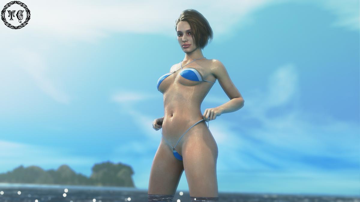 Splish Splash  1080p-  Front view-  🍑view-   #3dx #Rule34 #NSFW #JillValentine #ResidentEvil