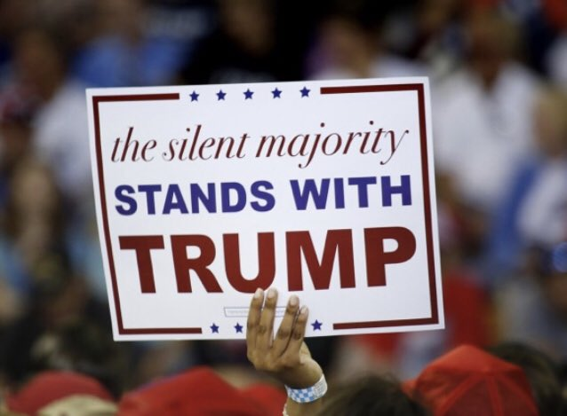 @MatthewJshow @realDonaldTrump The silent MAJORITY is going to speak loud and clear on November 3rd 2020!!