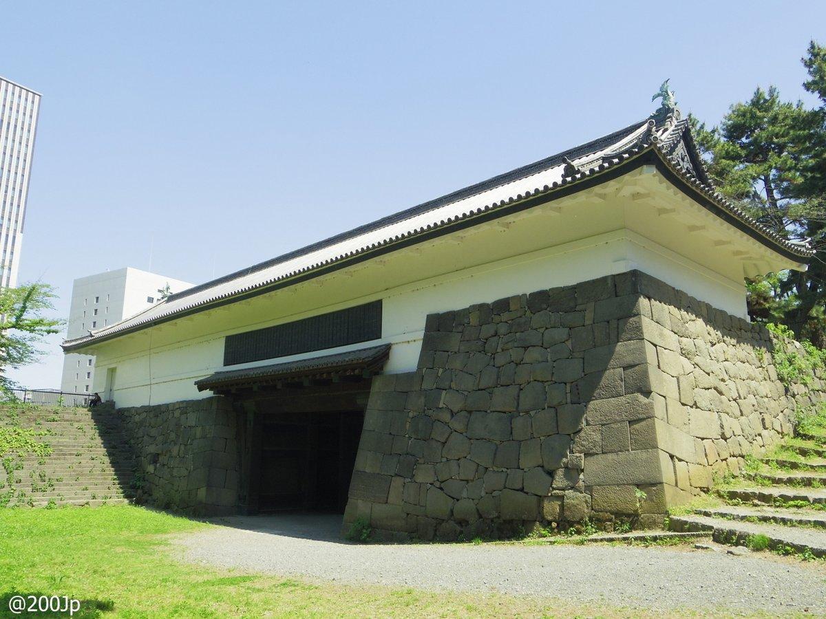 No.21 Edo-jo #castle Shimizu-Mon Gate Important Cultural Property 江戸城 清水門 重要文化財  #tokyo