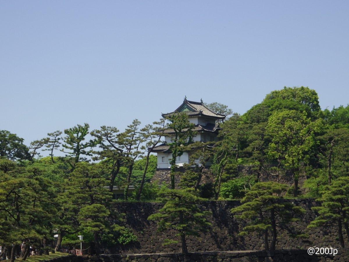 No.21 Edo-jo #castle Fujimi-Yagura Wacthing Tower  江戸城富士見櫓  #tokyo