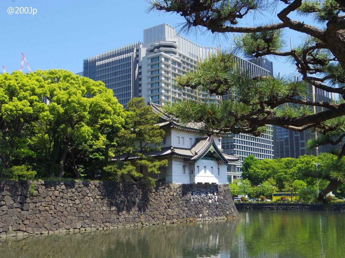 No.21 Edo-jo #castle Sakurada-Tatsumi-Yagura Watcing Tower 江戸城 桜田巽櫓  #tokyo