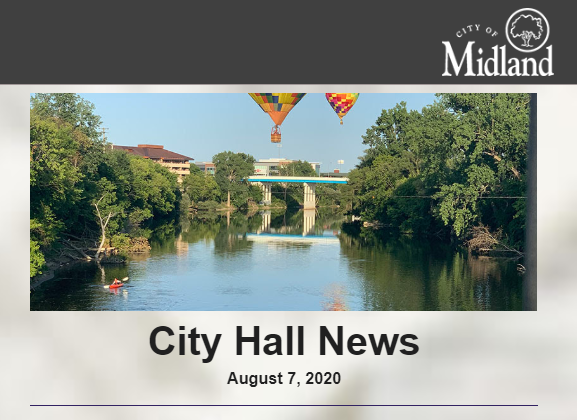 In this week's City Hall News: The 2021 City Calendar photo contest opens; an upcoming utility project will close Waldo Ave; @MidlandParksRec provides fall sports leagues; Monday's City Council meeting agenda & more! Read >