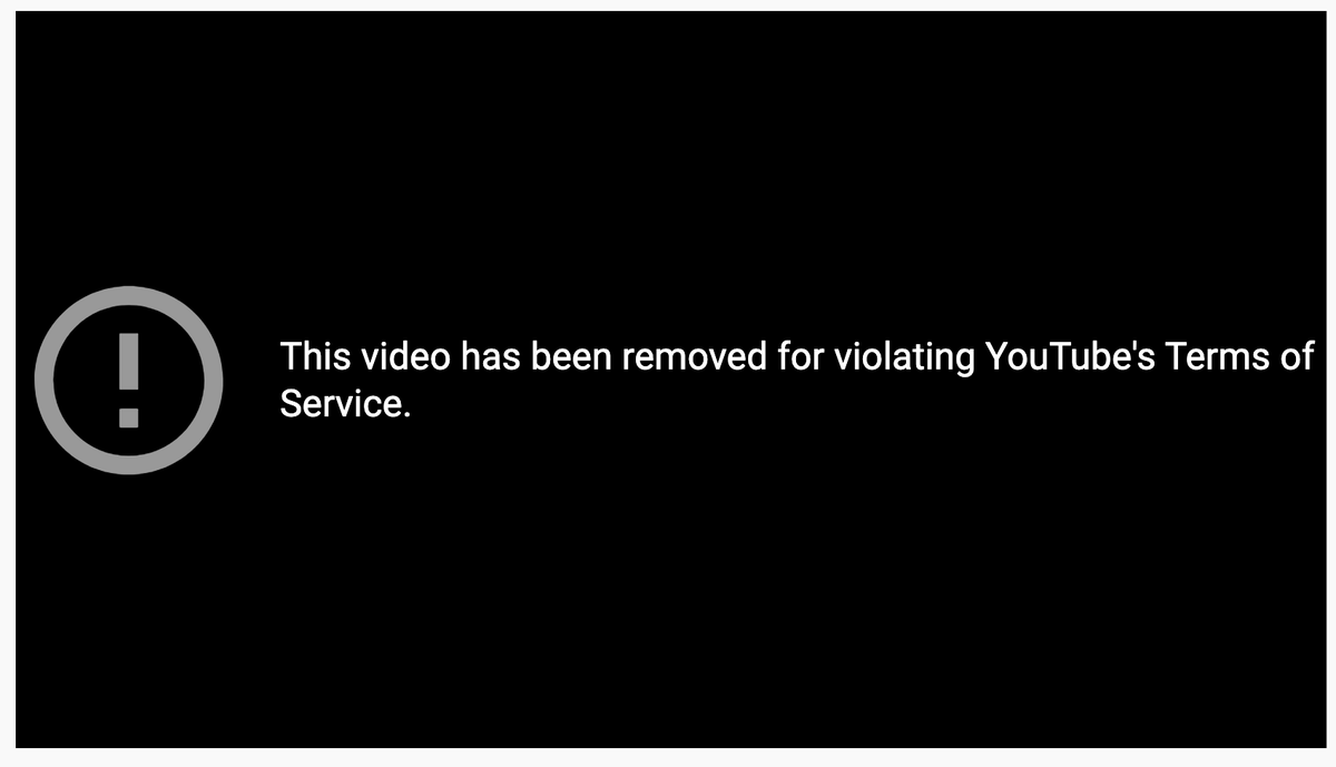 "BREAKING: @YouTube just DELETED one of our Abortion Procedures videos, which had over 1.8 million views, claiming it violated ""Community Guidelines""  The video has been live since 2016, includes medically accurate animations of abortion & is narrated by a former abortionist  RT!"