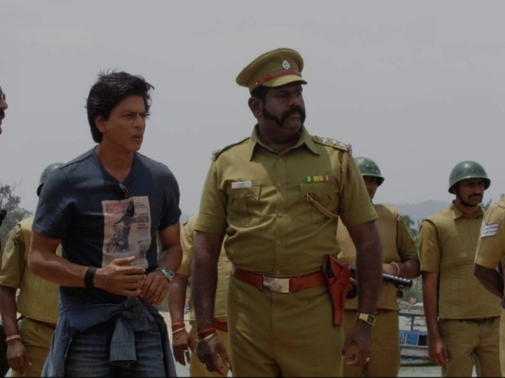 Glimpse from the sets of #ChennaiExpress #7YrsofChennaiExpress