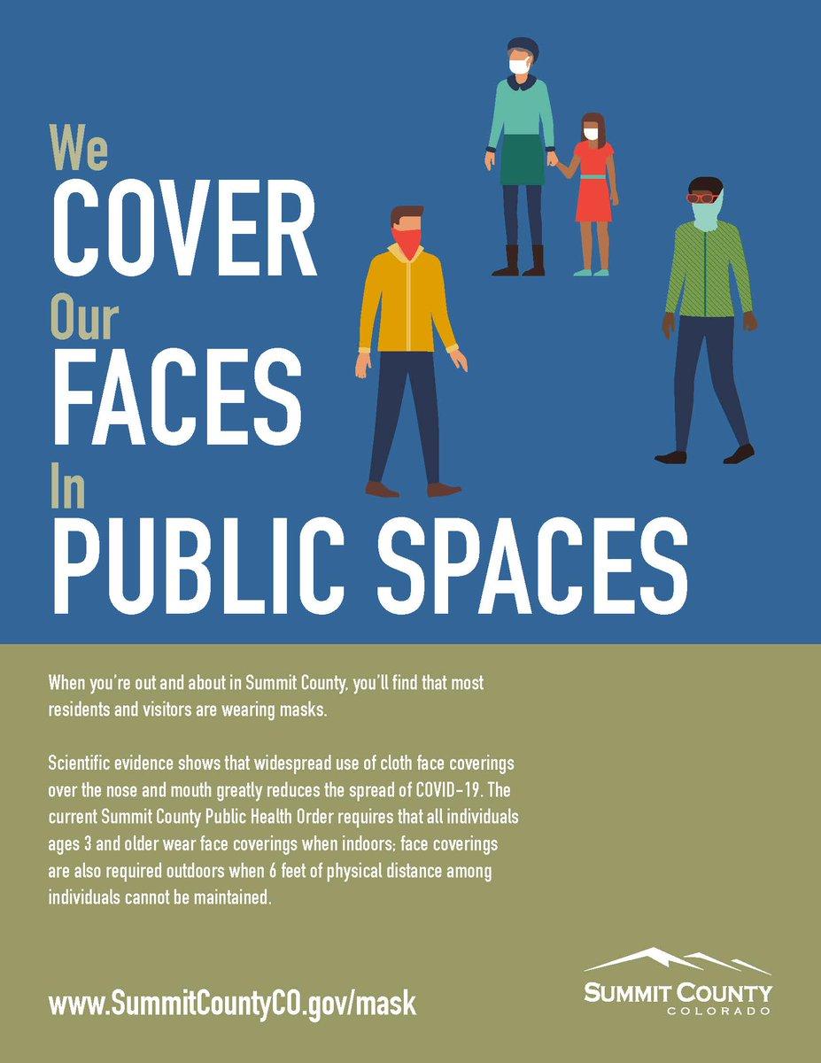 RT @SilverthorneCO: We Cover Our Faces in Public Spaces!  Nos Cubrimos La Cara En Publico!