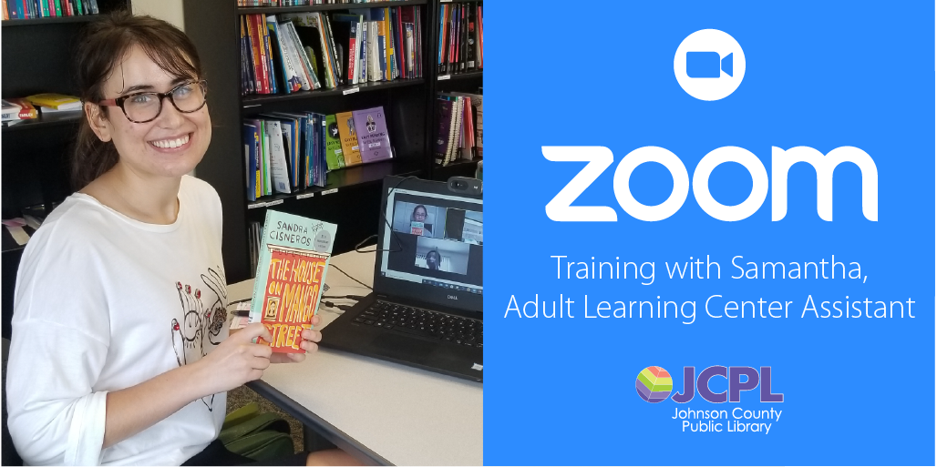 The Adult Learning Center of Johnson County Public Library is now offering informal Zoom training sessions.  Sessions run 30 to 60 minutes and are free to all adults. Register by contacting the Adult Learning Center assistant Samantha at Sgutierrez@jcplin.org