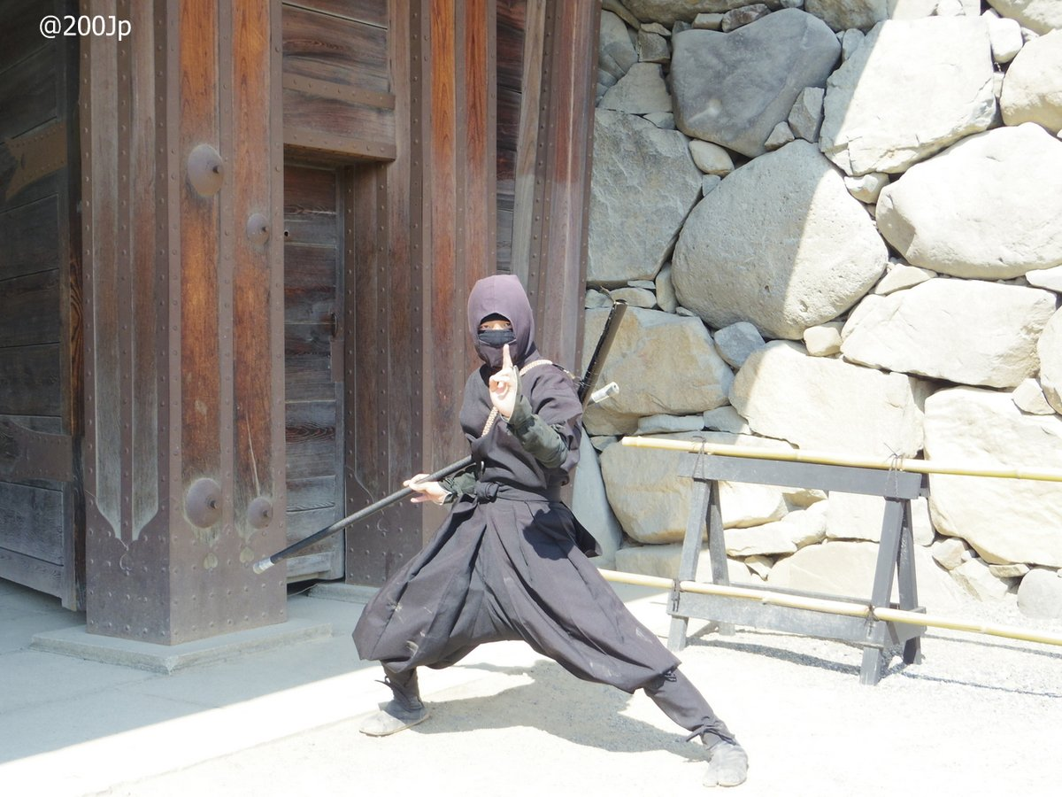 No.29 Ninja at Matusmoto-jo #castle 松本城 の忍者  #matsumoto