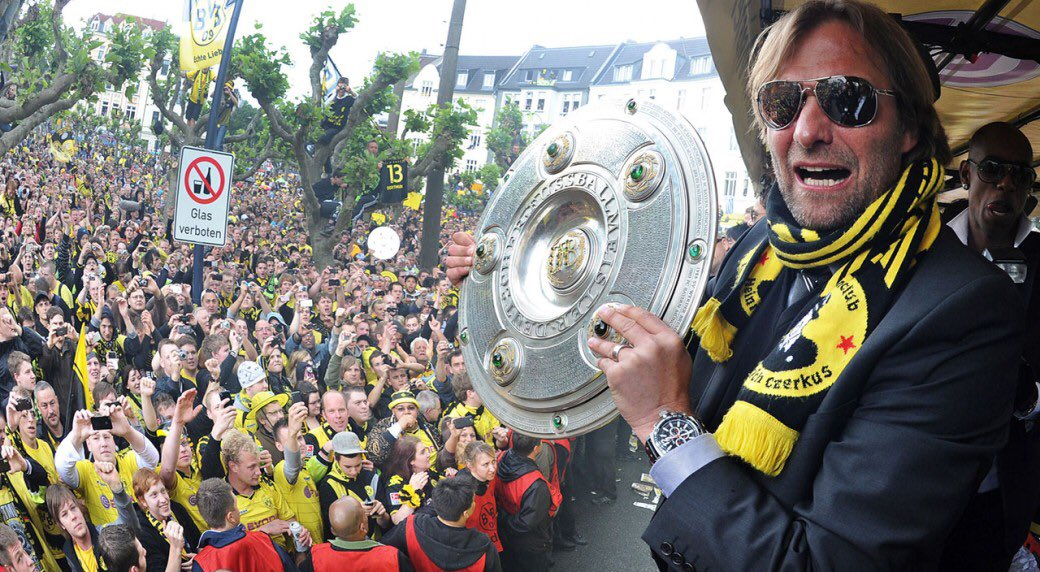 When Klopp came in, Dortmund had finished 13th. He made them back to back champions and UCL finalists.  When Klopp joined Liverpool, we were 10th. He turned us into UCL winners, and ended 30 years worth of hurt.  All without spending billions.  One of the best to ever do it.