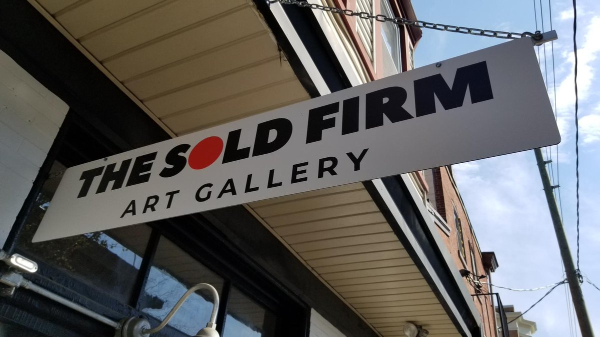 NEWS: Mayor @MikePurzycki & Cultural Affairs Dir. Tina Betz congratulate Nataki Oliver, owner/operator of @TheSoldFirm, on the art gallery's grand opening held Sat, 8/1. The gallery, located at 800B N. Tatnall St. was founded in 2019. #WilmDE  READ MORE: