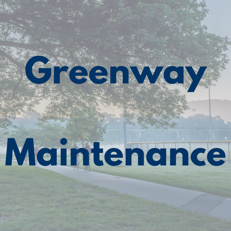 Expect maintenance crews, debris, and rolling closures along Mill Mountain and Roanoke River greenways over the next 3 days. If you're using these amenities, please be aware and exercise caution. #playroanoke #roanokeparksandrecreation