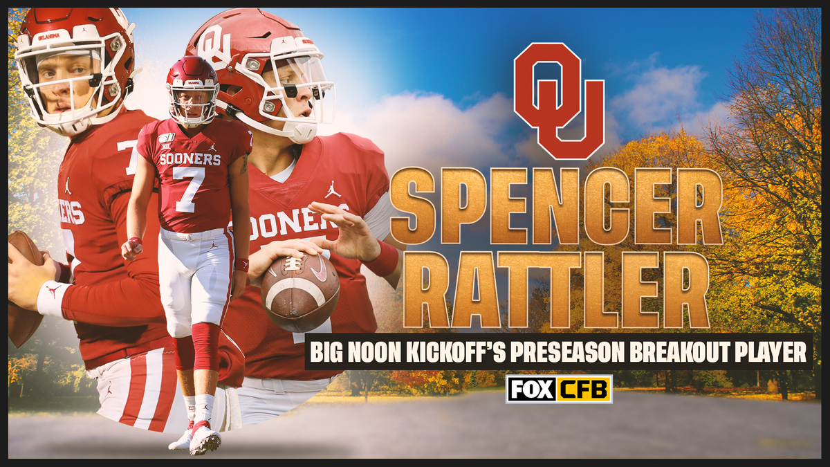 🙌 @OU_Football fans have a lot to be excited about this season.  The Big Noon Kickoff crew has @SpencerRattler as their preseason pick to have a breakout season this fall!