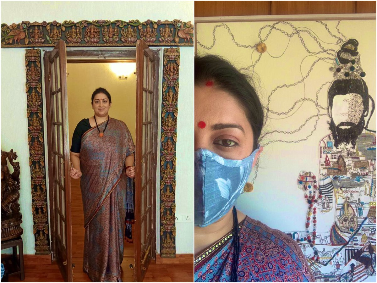 Handloom can enrich our daily lives and surroundings in many ways; from clothing to furnishing to Masks in Covid times to wall hanging. Bring home handmade in India!  I take pride in celebrating India's legacy, I am #Vocal4Handmade. Are you?