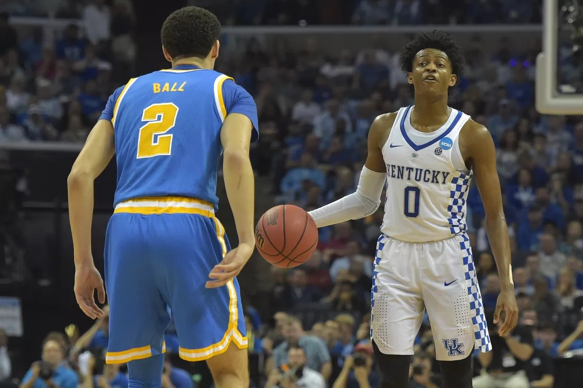 The Pac-12 canceling all sports through the end of the year means no UK-UCLA basketball game.  What a shame.  That rivalry has seen some pretty amazing things recently, such as when UK led UCLA 41-7 at halftime in 2014 and De'Aaron Fox became a father during the game in 2017.