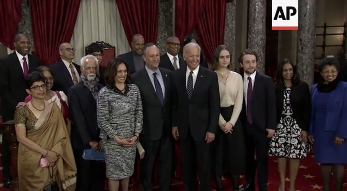"""I am SO EXCITED that we get to watch @KamalaHarris, who swore into congress as an """"Indian-American"""", now play the """"I'm a black a woman"""" card all the way until November.   Fun times!   #MAGA"""