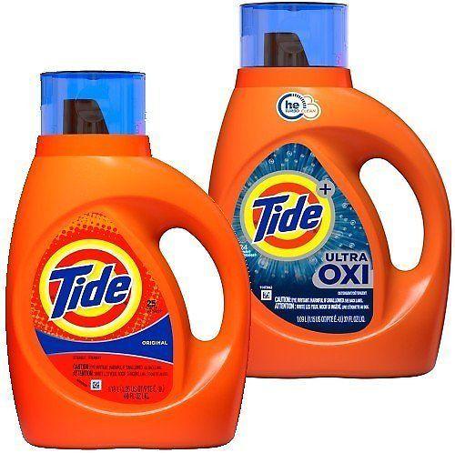 $2.99 Tide Detergent!   (Reg $7)