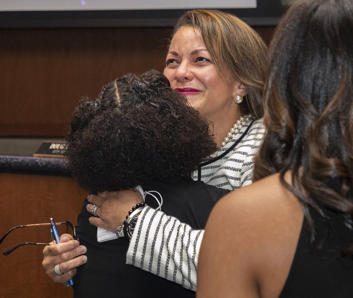 At the Aug 12th Council meeting, Councilwoman Michelle Cooper Kelly was surprised by Council, family, and friends with the liveSAFE Woman of the Year Award. We are honored to have Michelle Cooper Kelly serve as a member of our City Council!