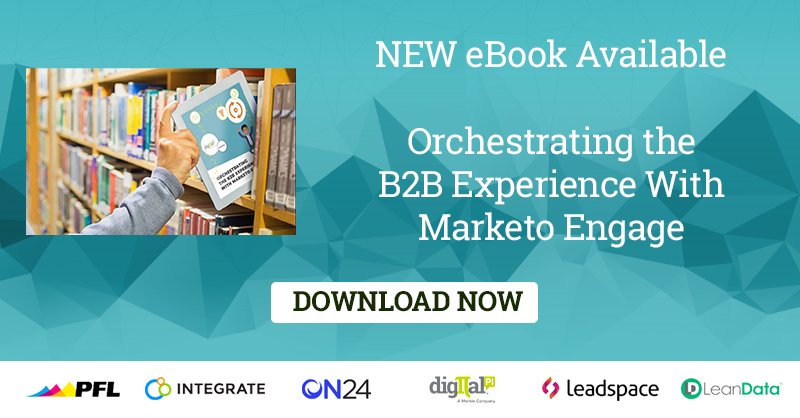 digitalpi: NEW RELEASE 🎉 Orchestrating the B2B Experience with #Marketo Engage https://t.co/wBMymkWfkA #mktgnation https://t.co/XqisI3pgux