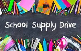 Please join our School Resource Officers today at the Walmart in Southpoint. They will be out there from 12pm to 4pm collecting school supplies for children in our community who are less fortunate!