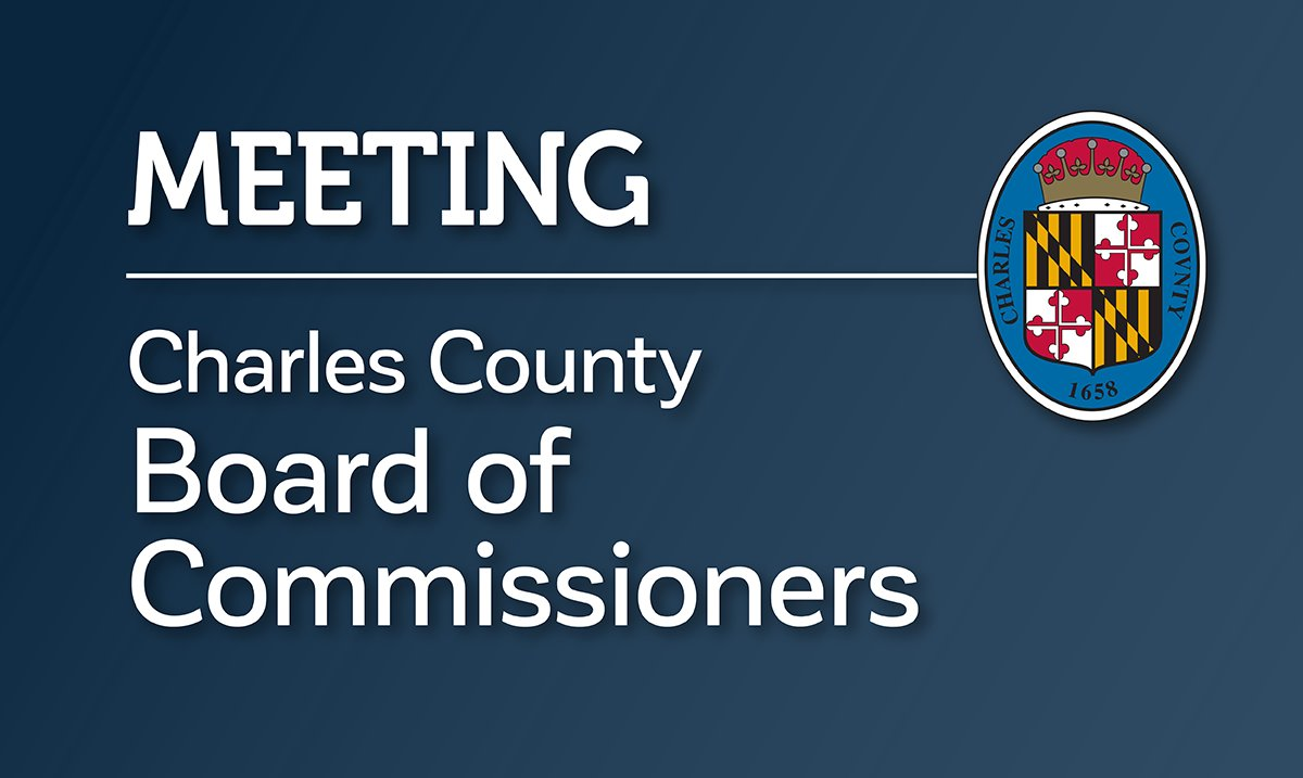 Sept. 15 meeting of the Charles County Board of Commissioners is now available for viewing:
