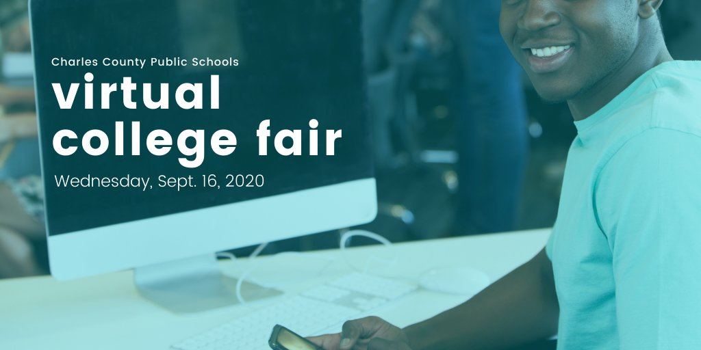 The College Fair is today for CCPS juniors & seniors. Visit the database in your Teams account to connect virtually with live college/career reps. A financial aid presentation by CSM is set for tonight 6-7:30 p.m.