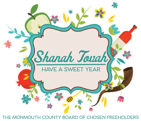 The #MonmouthCounty Board of Chosen Freeholders wishes you a Happy Rosh Hashanah!