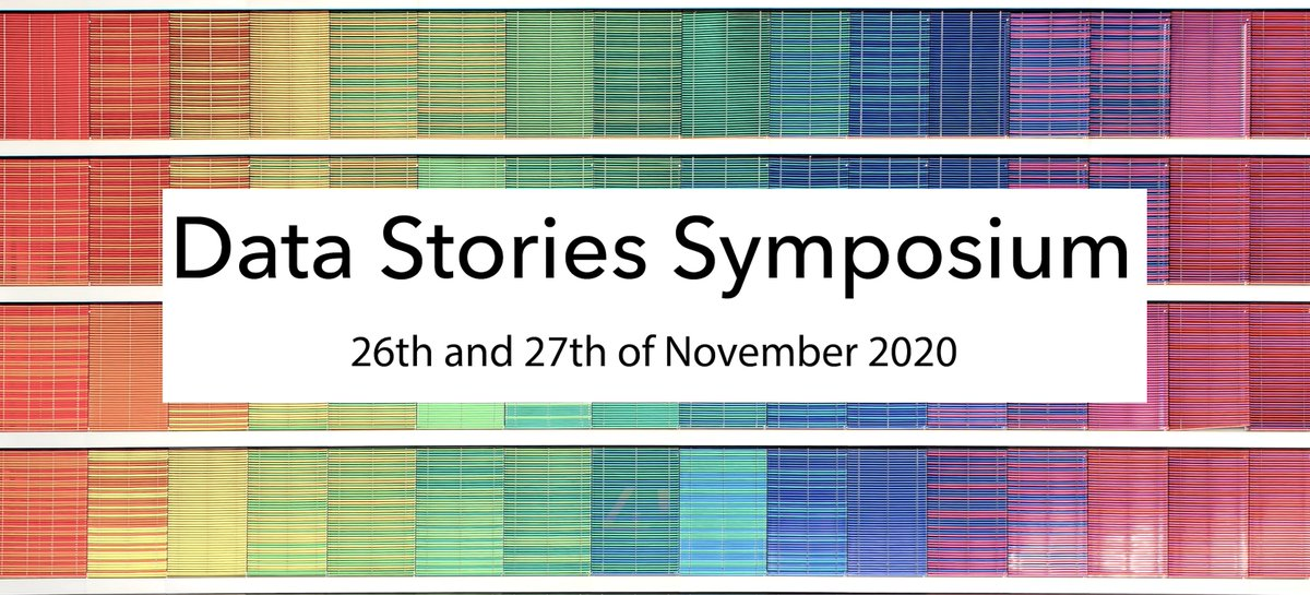 test Twitter Media - Happy to announce that the Data Stories Symposium will take place virtually on the 26th + 27th of November 2020. Join us for two half days on how to experience data through stories 🥳 w/ @esimperl @laurakoesten @binocularity @jwyg Find details/RSVP here: https://t.co/fxT96eeL6W https://t.co/RrRZ0Tgc2h