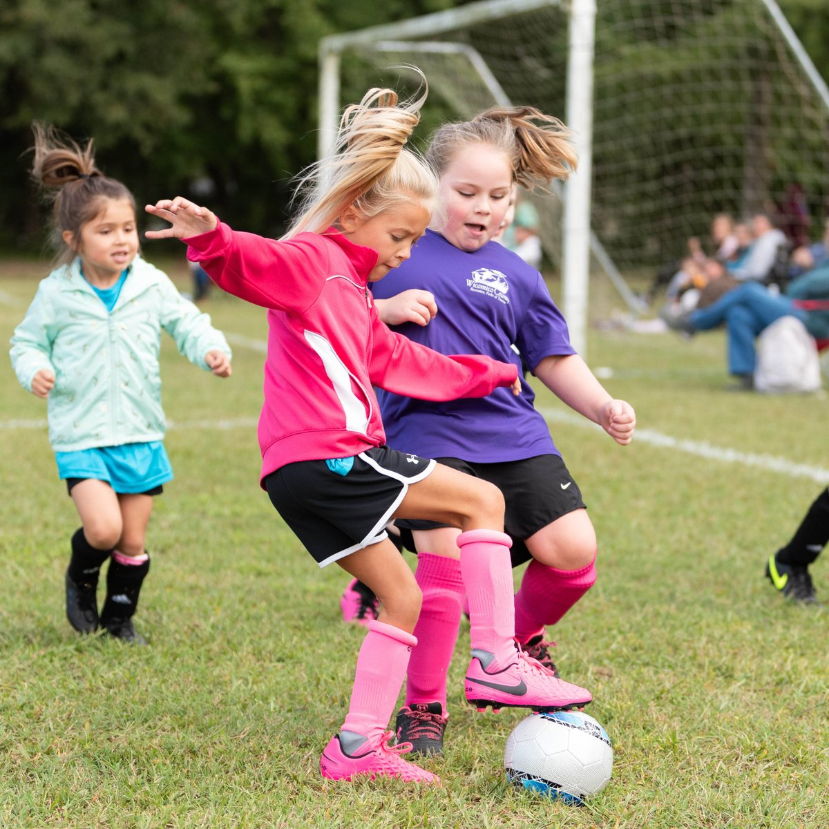 Player's skills are looking sharp at our fall youth soccer programs. ⚽️ #funwicomico