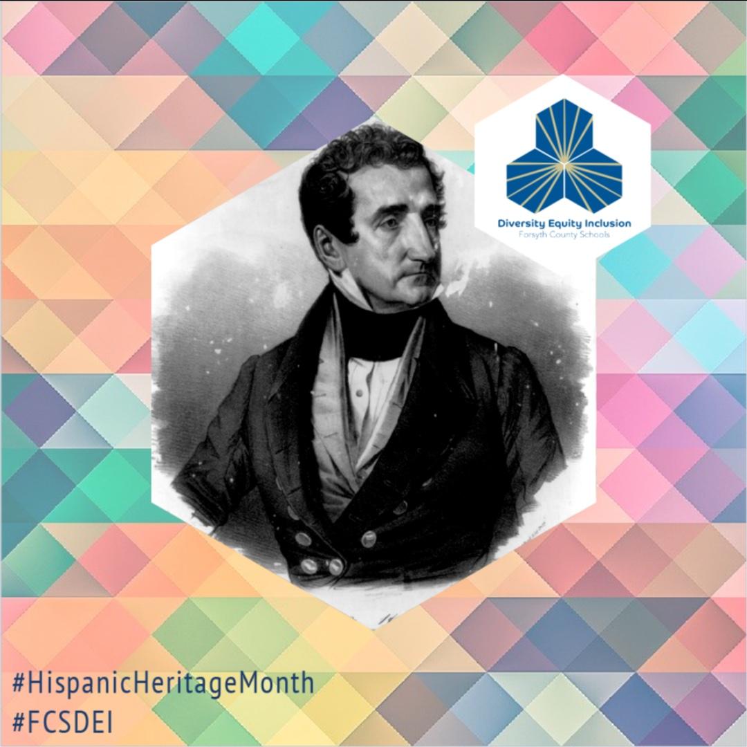 Joseph Marion Hernández was selected making him the first Hispanic-American member of Congress.    #HispanicHeritageMonth #FCSDEI