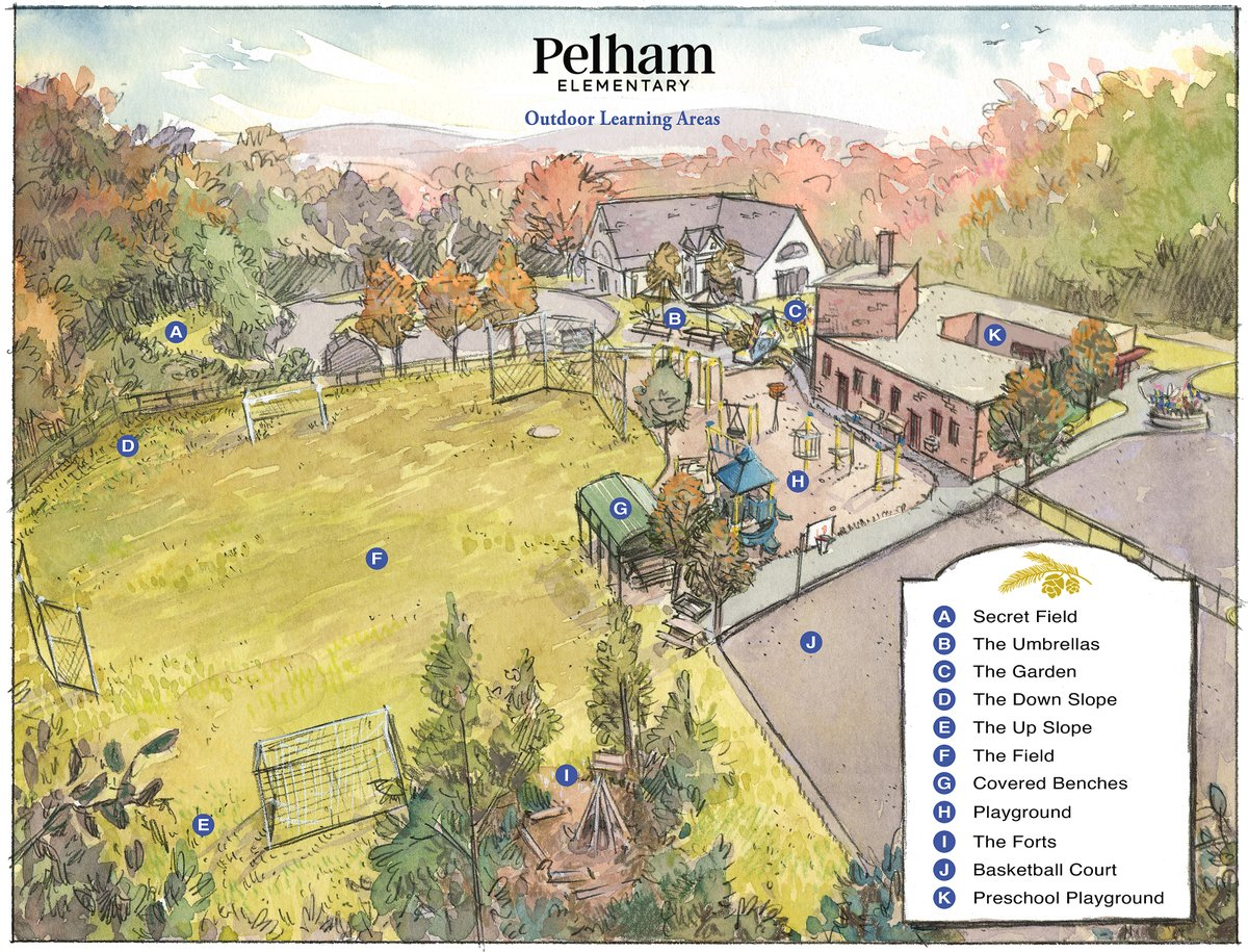 RT @MMARPS: Amazing map of outdoor learning @ Pelham Elementary designed by a Pelham parent