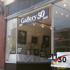 Gallery 50 of Waynesboro is this week's Tourism Spotlight feature! Gallery 50's mission is to make Waynesboro a true arts destination through exhibiting local artists, fine arts and quality crafts, and community revitalization projects!  More at: