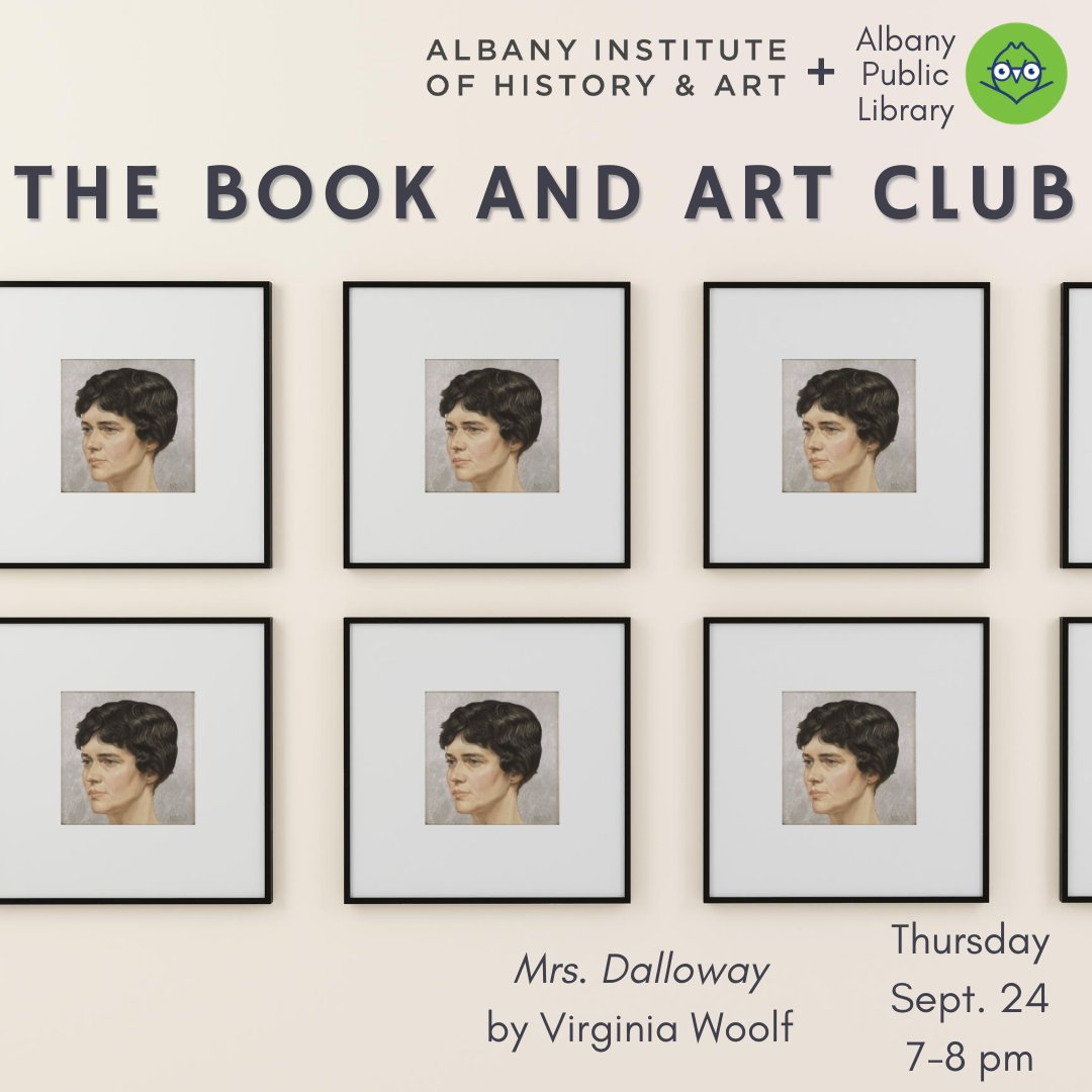 👀👀👀 3 spots just opened up for our Book and Art Club tonight if you want to jump on them fast: