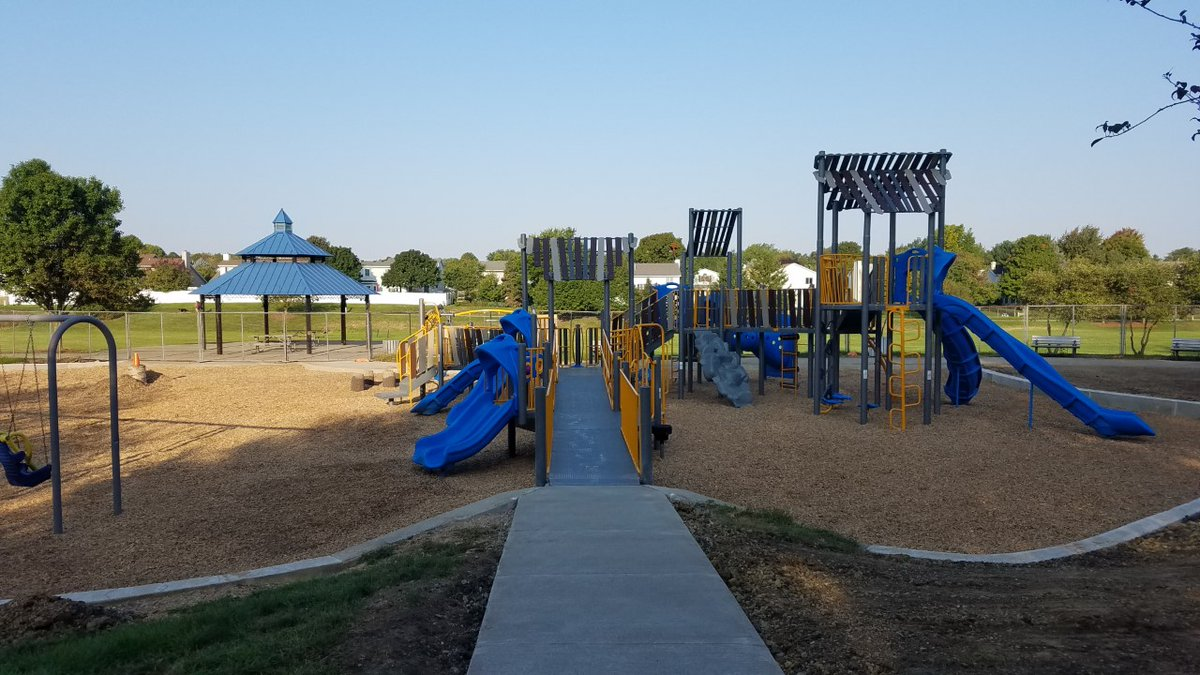 🎉 🎉 🎉 🎉 We are excited to announce that the new playground at Clearwater Park (2716 Clearwater Ave.) will be open on Friday, Sept. 25th at 2:00 PM. Thank you for your patience and to all the workers who installed the new playground! 🌳 . #BloNo #BloomingtonParks