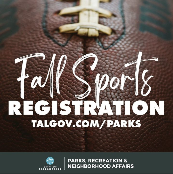 Registration opens this Saturday!  @COTparks is excited to offer Youth and Adult Fall Sports.   Registration runs Saturday, Sept. 26 – Wed., Sept. 30 (baseball & softball registration dates vary.)  Visit  for details.