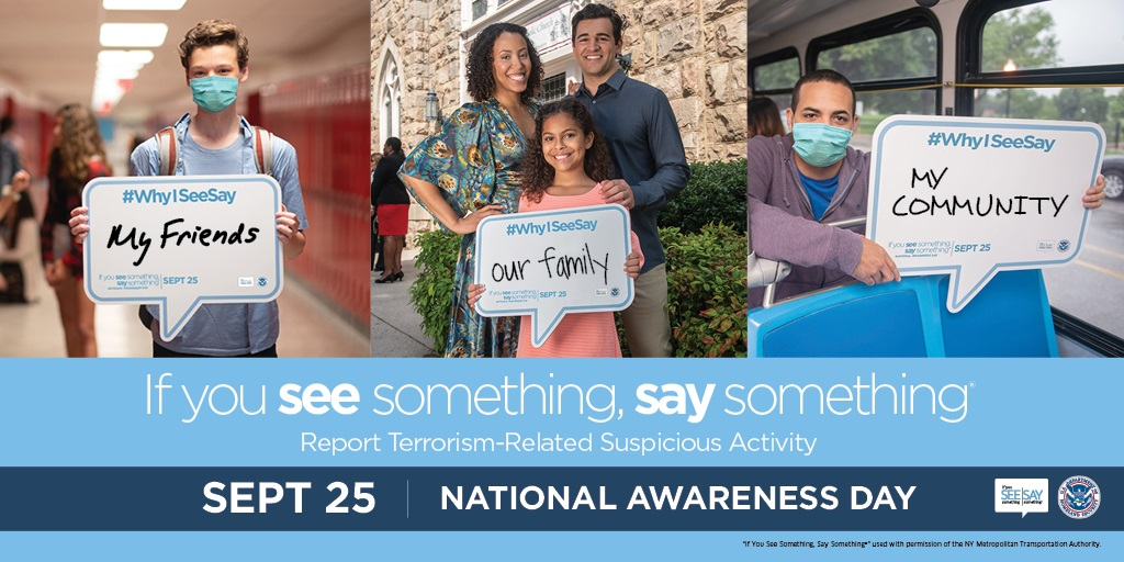 Keeping our families safe is a top priority. If you see something out of place, say something. Together we can @KeepOCSafe for those we love. Learn the signs of suspicious objects and activity here:  #KeepOCSafe