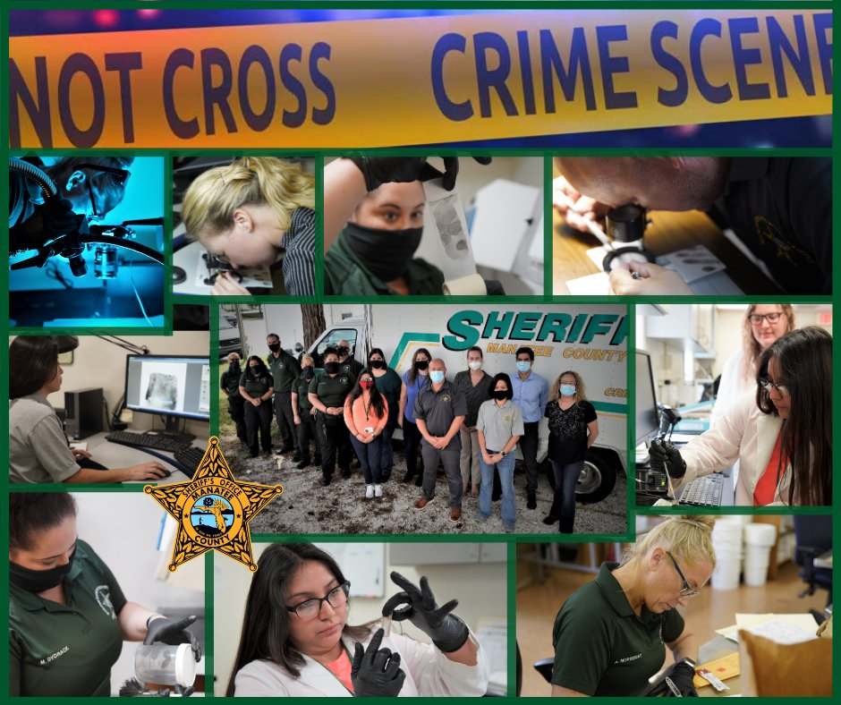 Our Forensics Services team is instrumental in the process of collecting & analyzing evidence & identifying suspects. They're critical in keeping our community safe. We thank our Crime Scene, Fingerprint, and Forensic Chemistry Units for their dedication! #ForensicScienceWeek2020