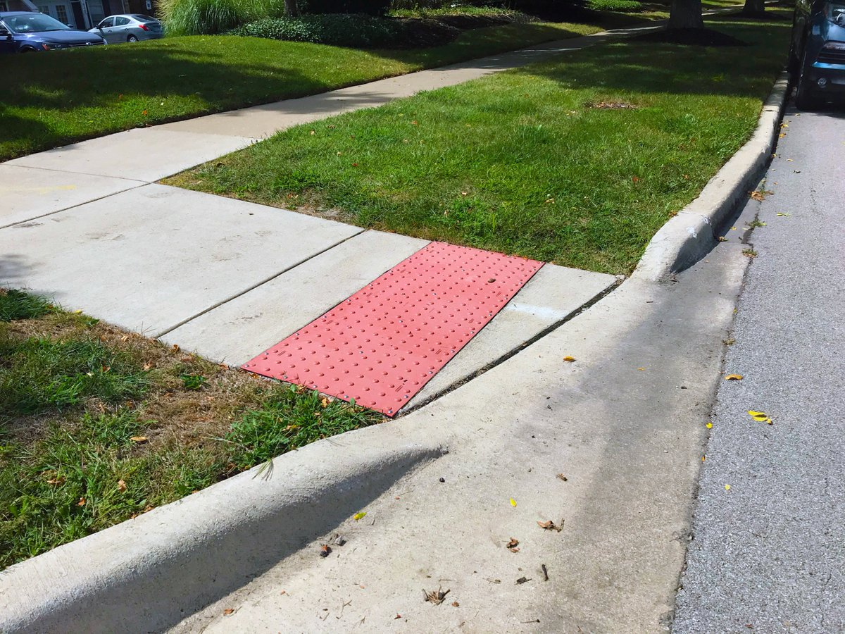 Did you know that the City of Naperville improves an average of 400 sidewalk ramps annually through our various street maintenance programs? That's one example of our commitment to improving accessibility throughout the city!