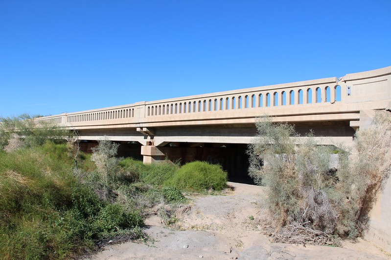 NEW: All the traffic may be on Interstate 8, but that doesn't mean this 90-plus-year-old bridge a stone's throw away isn't still doing its job. MORE: